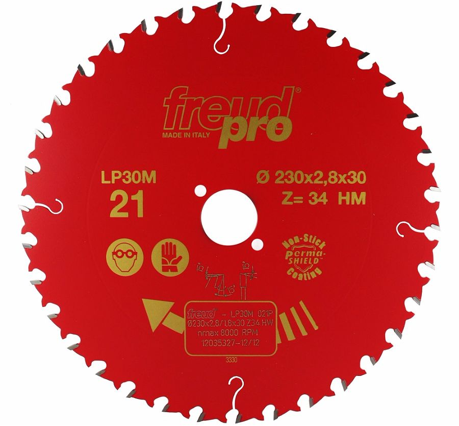 FREUD LP30M 021 GP Saw Blade 230 X 30 X 34T