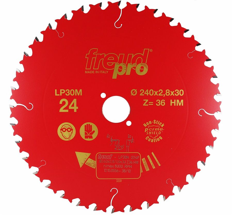 FREUD LP30M 024 GP Saw Blade 240 X 30 X 36T