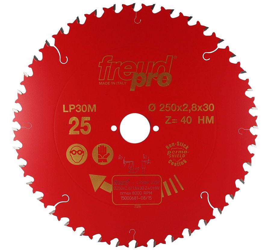FREUD LP30M 025 GP Saw Blade 250 X 30 X 40T