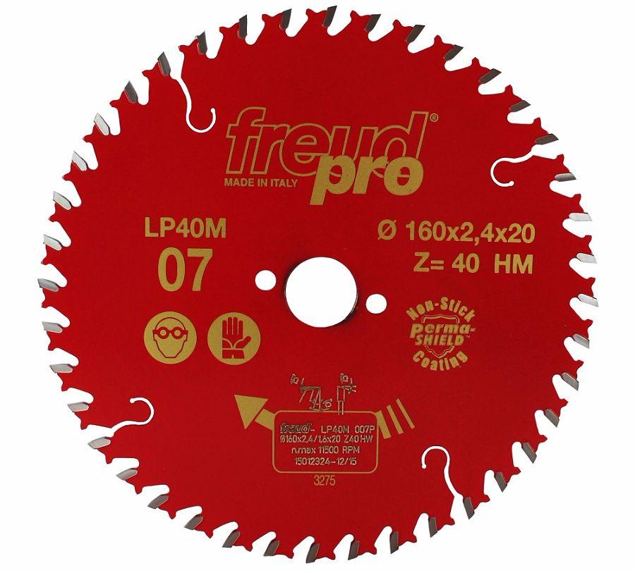 FREUD LP40M 007 Fine Saw Blade 160 X 20 X 40T
