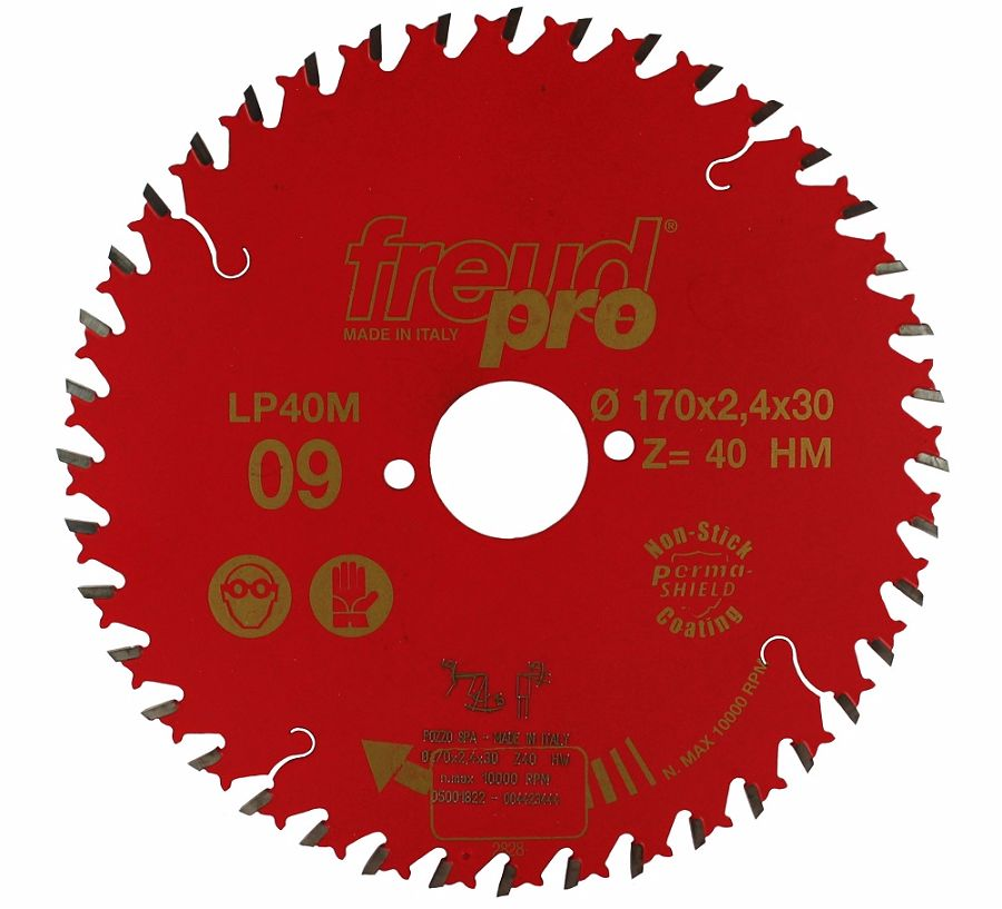FREUD LP40M 009 Fine Saw Blade 170 X 30 X 40T