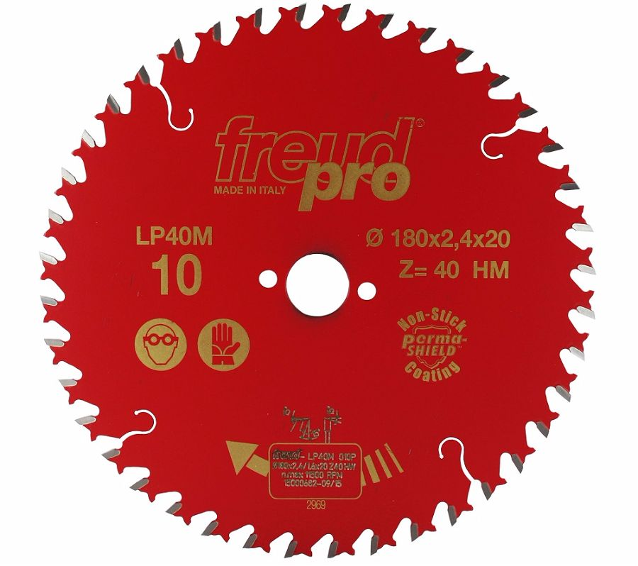 FREUD LP40M 010 Fine Saw Blade 180 X 20 X 40T
