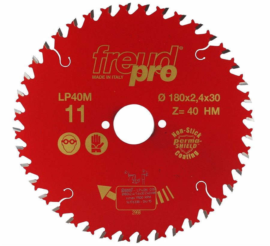 FREUD LP40M 011 Fine Saw Blade 180 X 30 X 40T