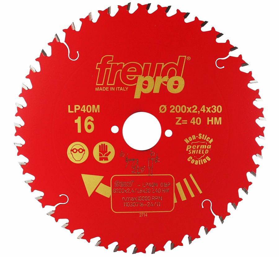 FREUD LP40M 016 Fine Saw Blade 200 X 30 X 40T