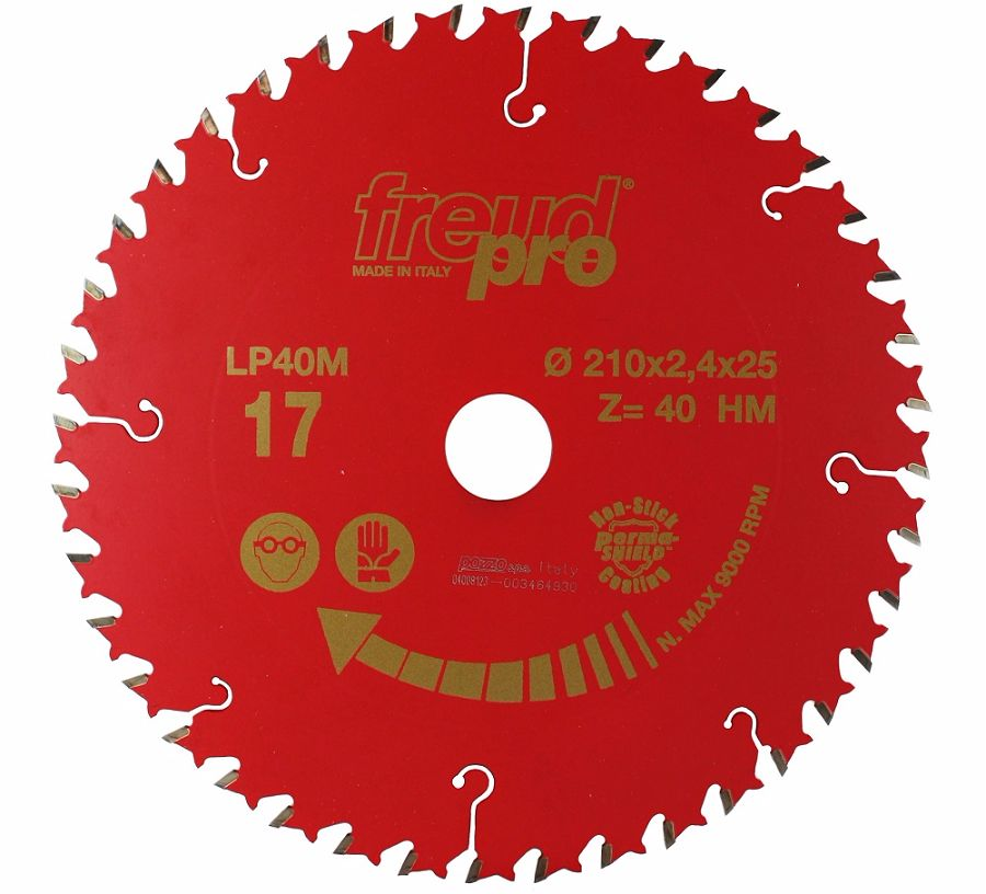 FREUD LP40M 017 Fine Saw Blade 210 X 25 X 40T