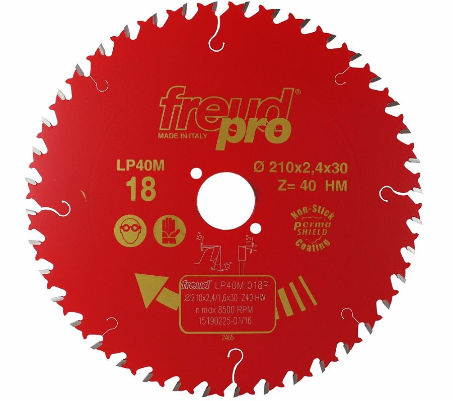 FREUD LP40M 018 Fine Saw Blade 210 X 30 X 40T