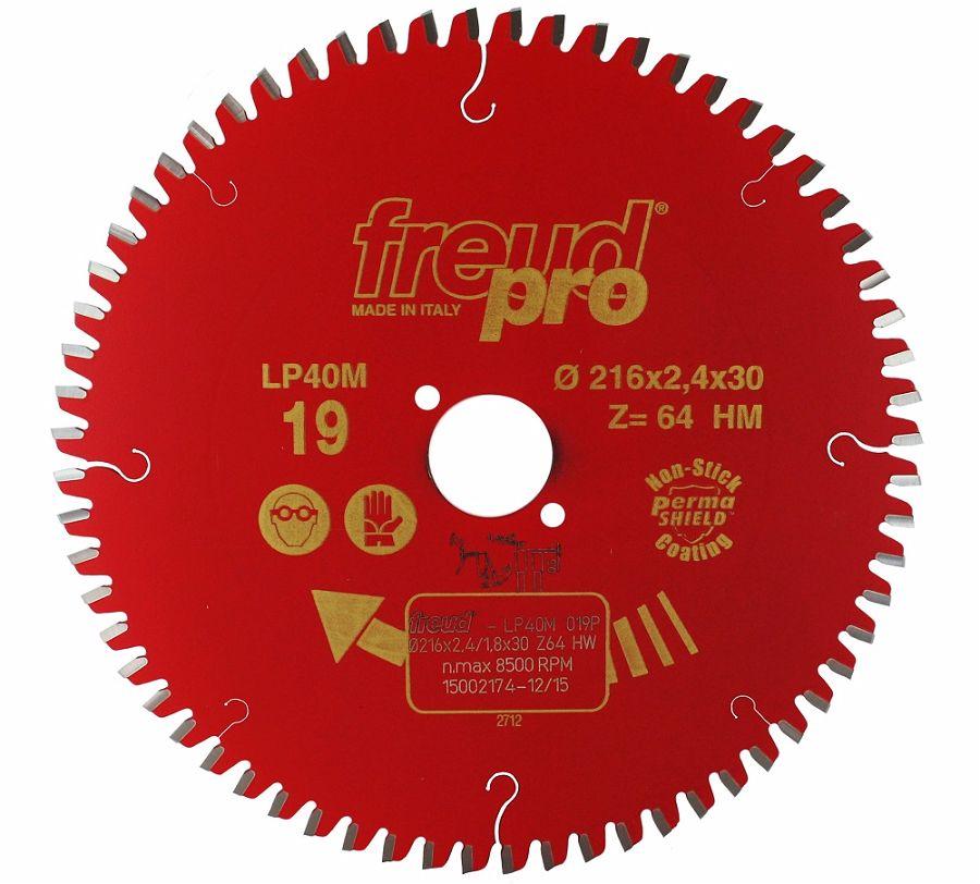 FREUD LP40M 019 Fine Saw Blade 216 X 30 X 64T