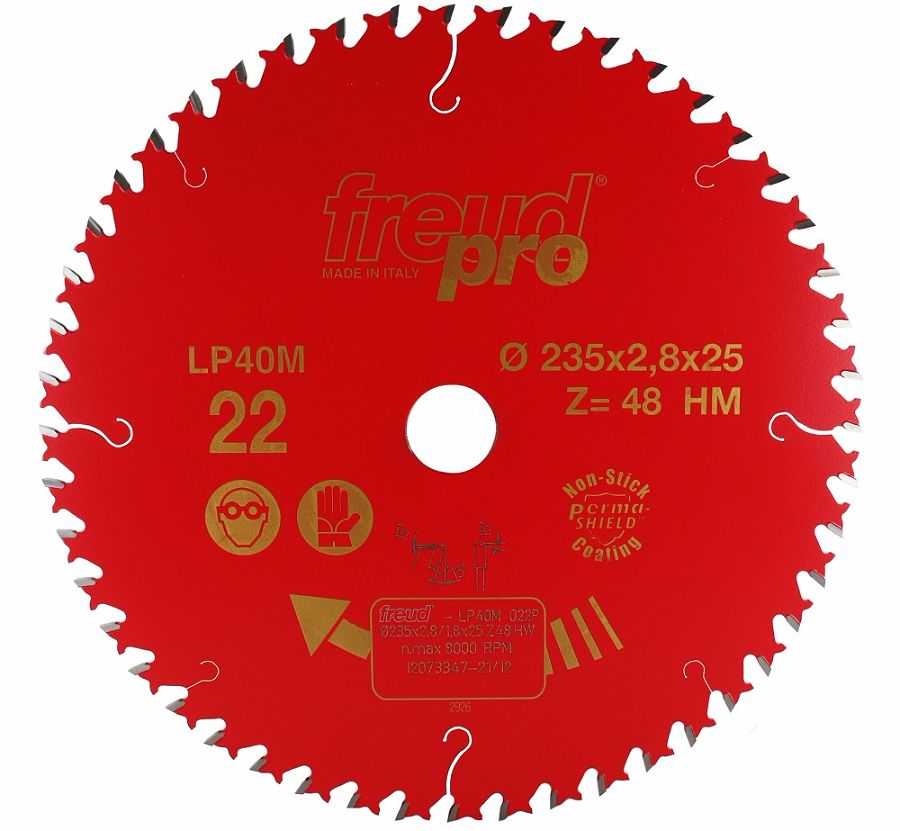 FREUD LP40M 022 Fine Saw Blade 235 X 25 X 48T