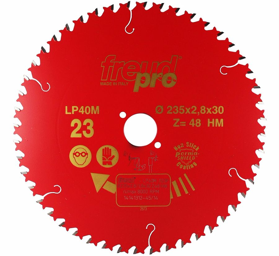 FREUD LP40M 023 Fine Saw Blade 235 X 30 X 48T