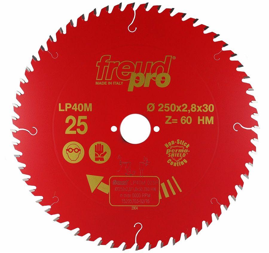 FREUD LP40M 025 Fine Saw Blade 250 X 30 X 60T