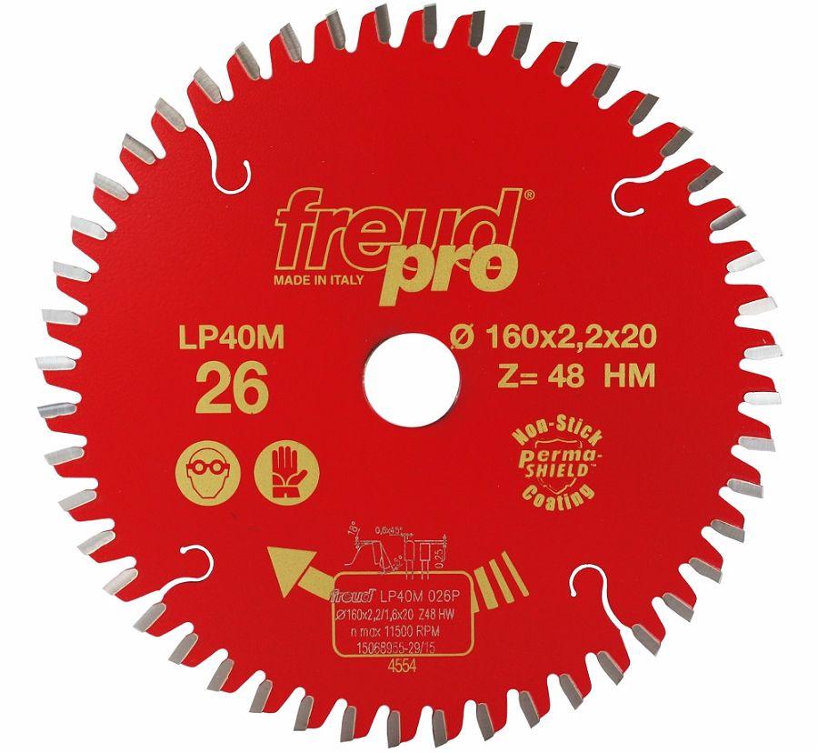 FREUD LP40M 026 Fine Saw Blade 160 X 20 X 48T