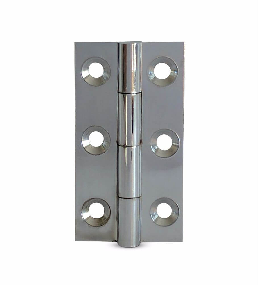 FTD800CCP Cabinet Butt Hinge 50x28x1.5mm CP