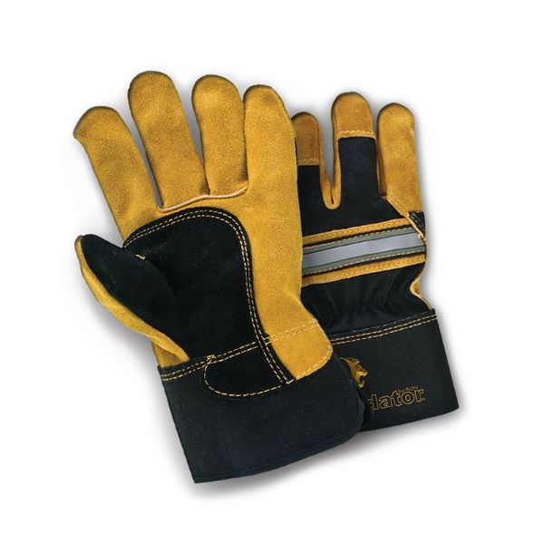 Leather Palm 'Tiger' Heavy Duty Rigger Gloves