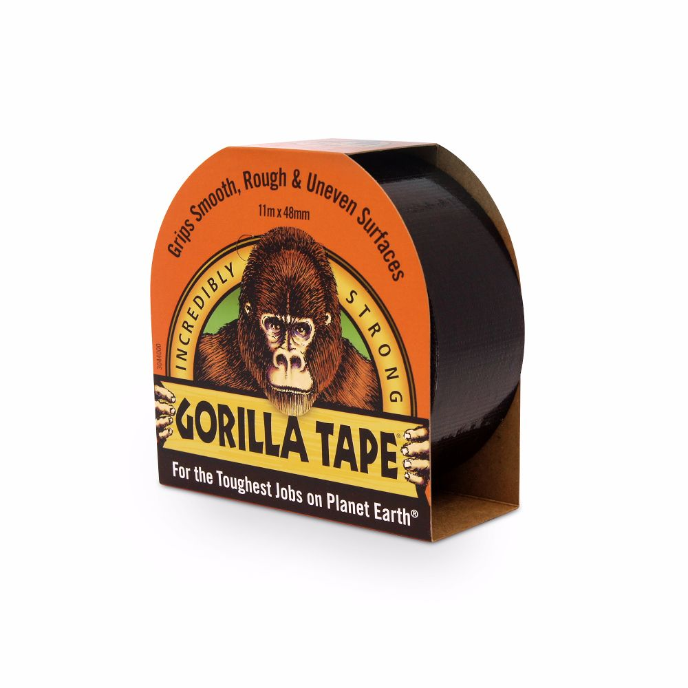 Gorilla Tape Black 48mm x 11 Metre