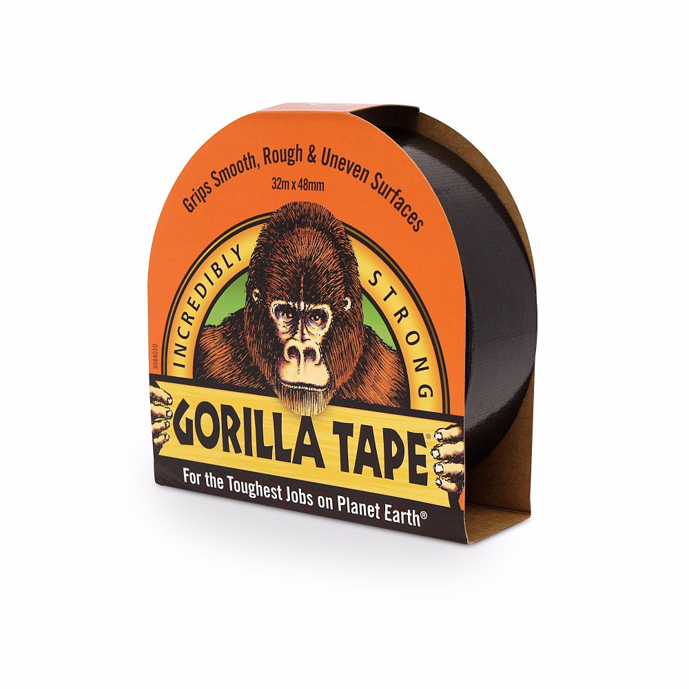 Gorilla Tape Black 48mm x 32 Metre