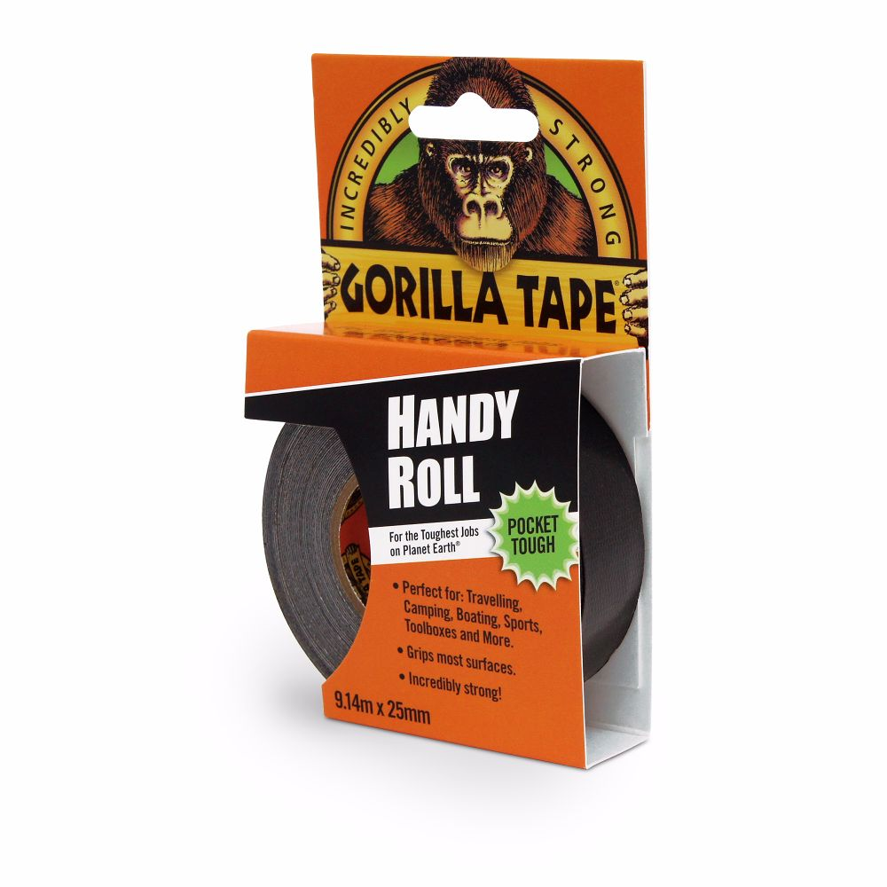 Gorilla Tape Handy Roll 25mm x 9 Metre