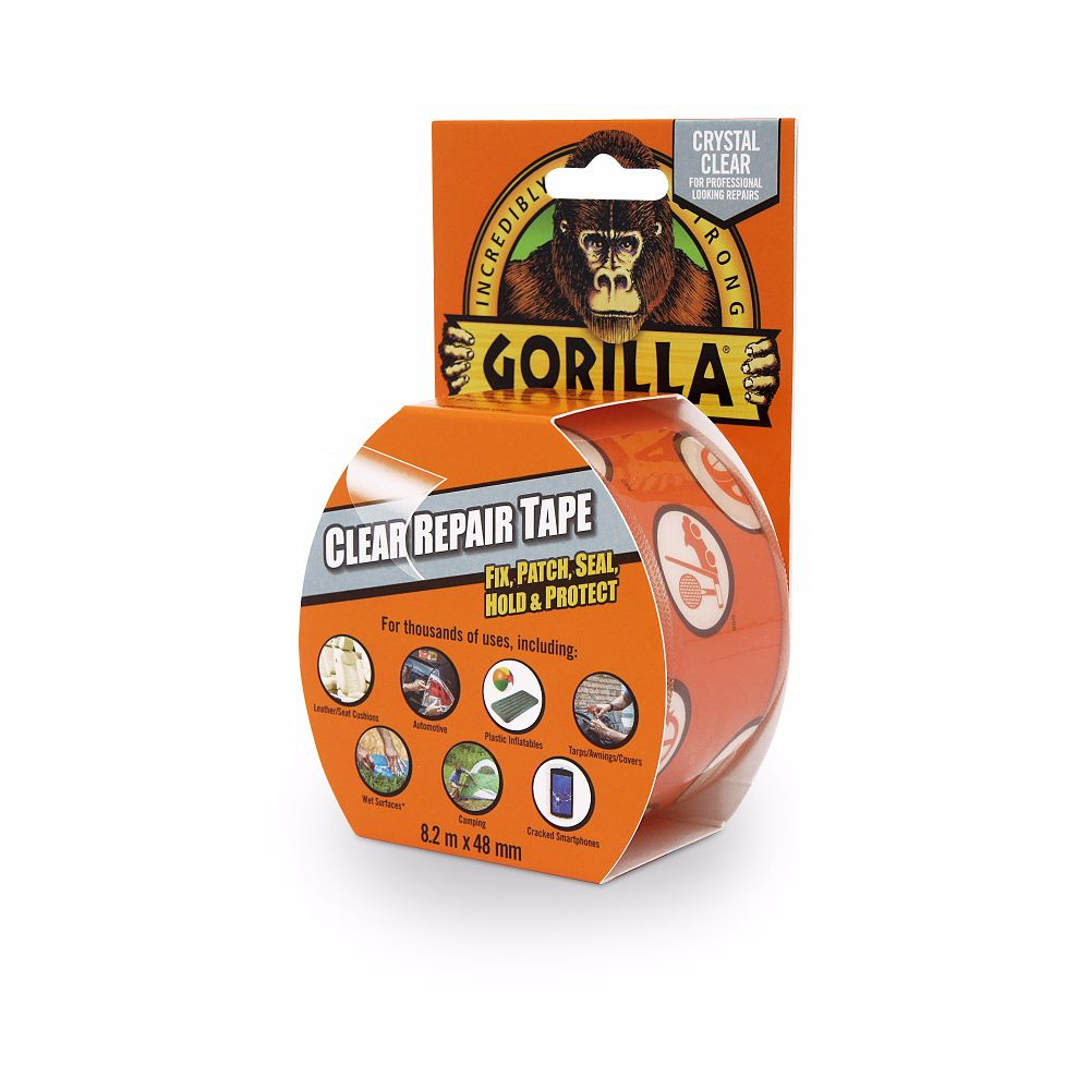 Gorilla Tape Clear Repair 48mm x 8.2 Metre