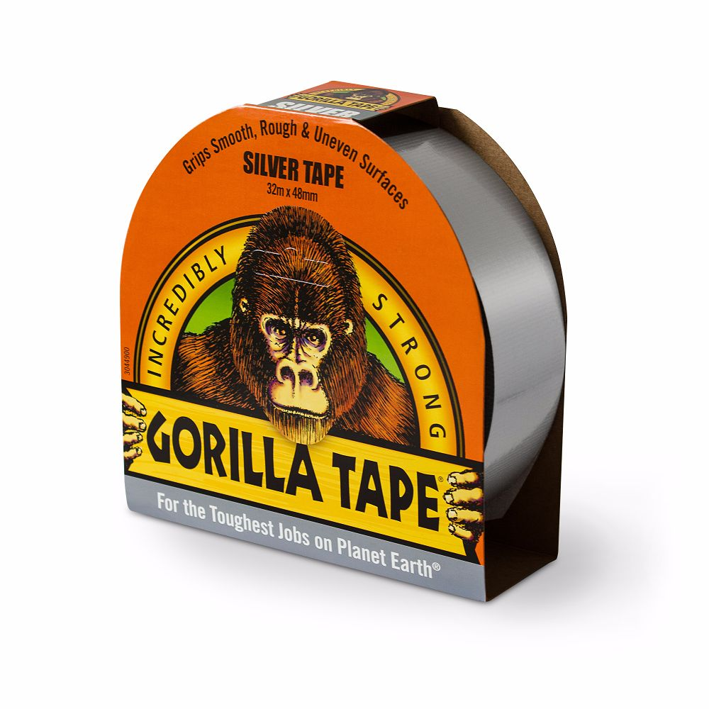 Gorilla Tape Silver 48mm x 32 Metre