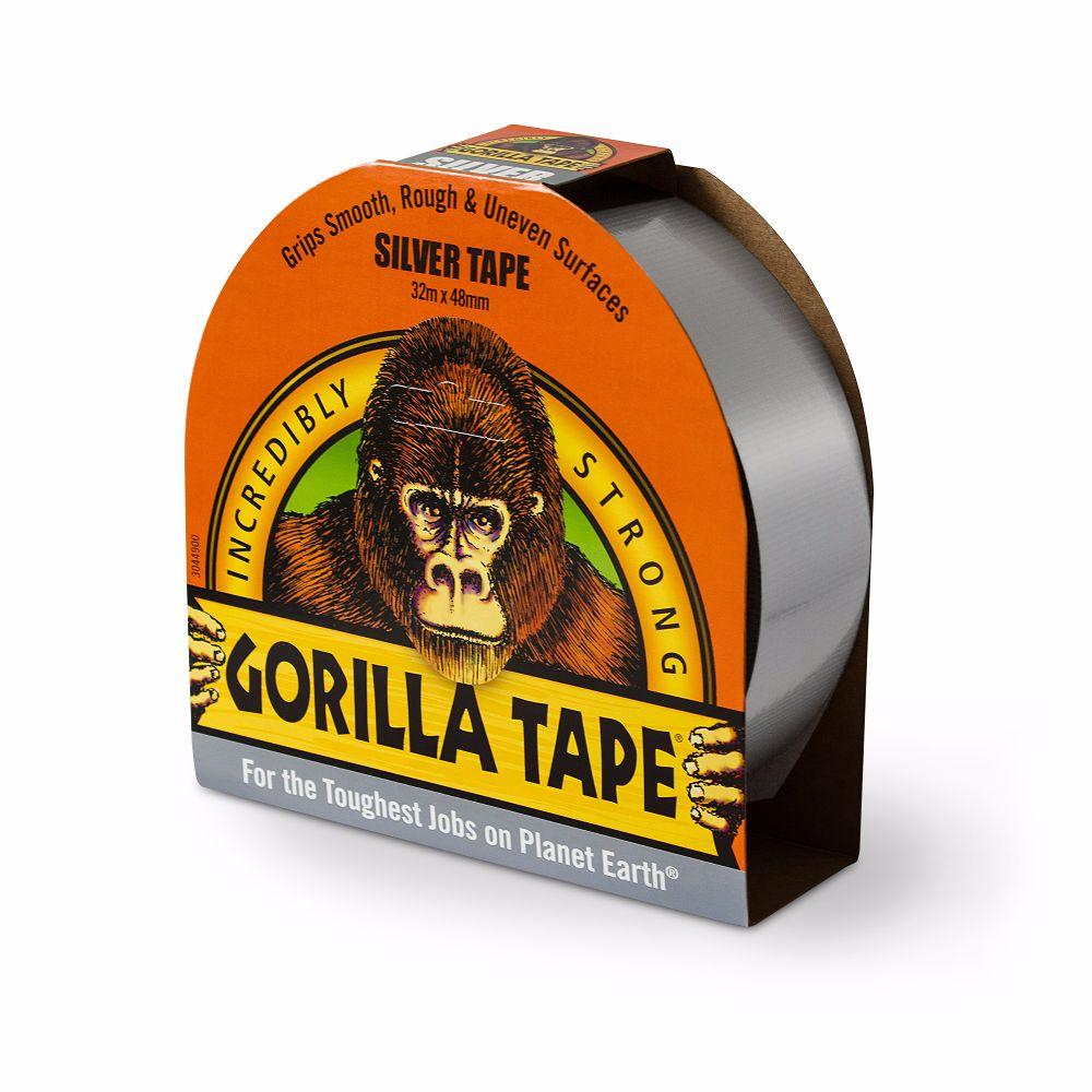 Gorilla Tape Silver 48mm x 32 Metre