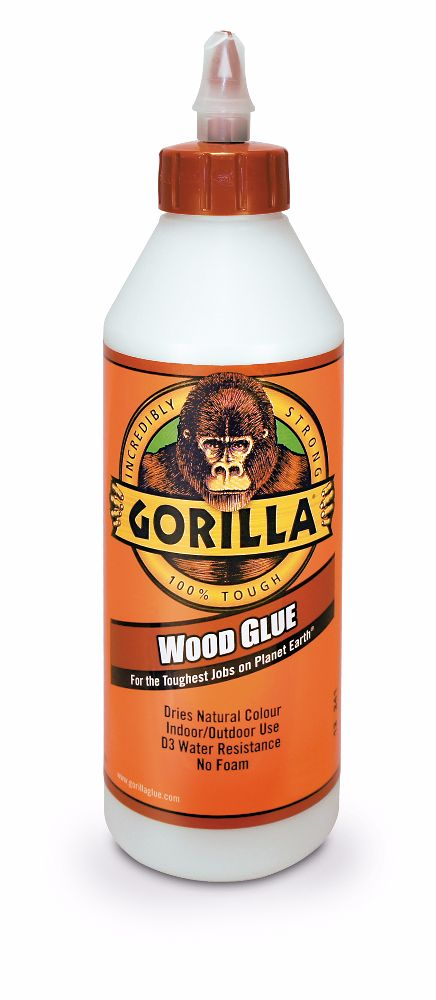 Gorilla PVA D3 Waterproof Wood Glue 236ml