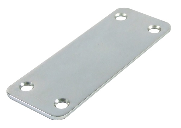98x36mm Flat Door Joining Plate Zinc 26021950