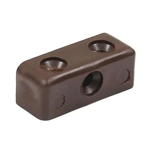 One Piece Modesty Block Brown 13 x 13 x 36mm