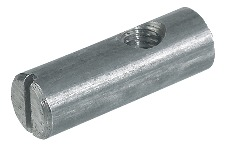 M6 x 30mm Cross Dowel With Off-Centre Thread