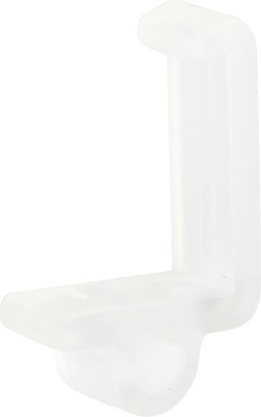 28216220 Shelf retainerTransparent plastic