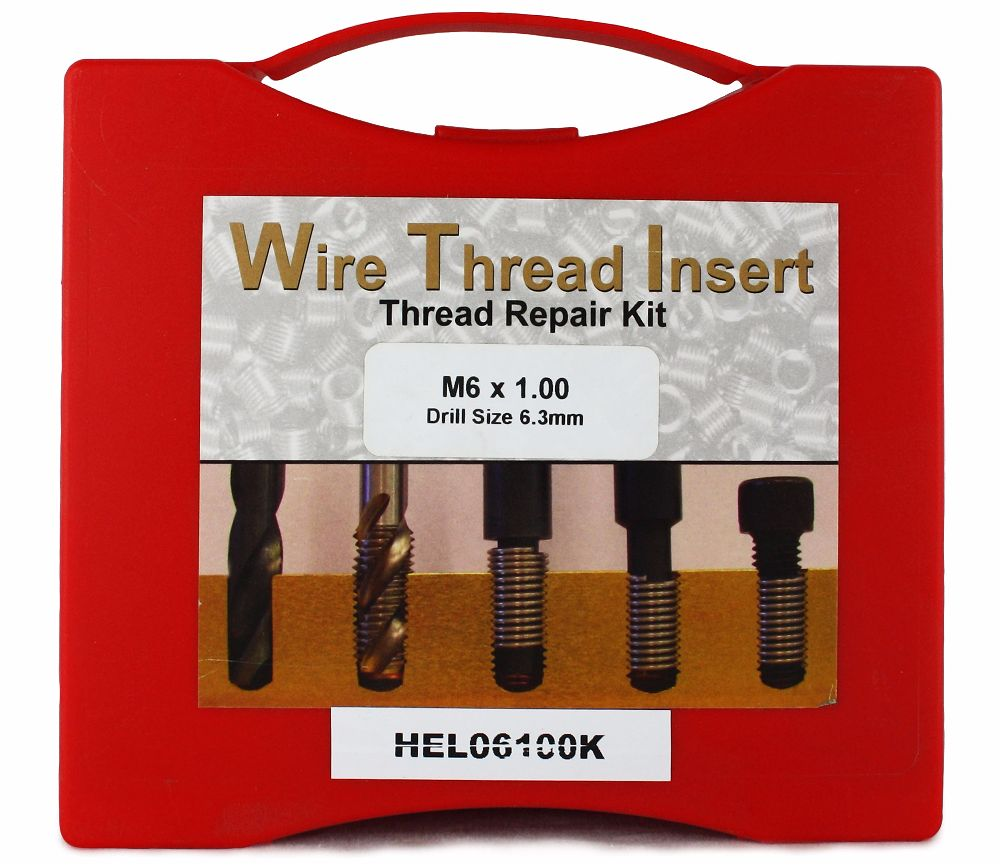 Helicoil M6 x 1.00P Thread Insert Kit