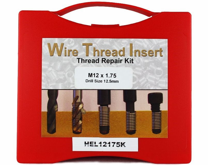 Helicoil M12 x 1.75P Thread Insert Kit