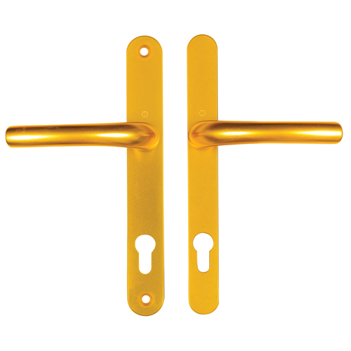 Hoppe Tokyo Sprung Lever 92mm Centres Gold