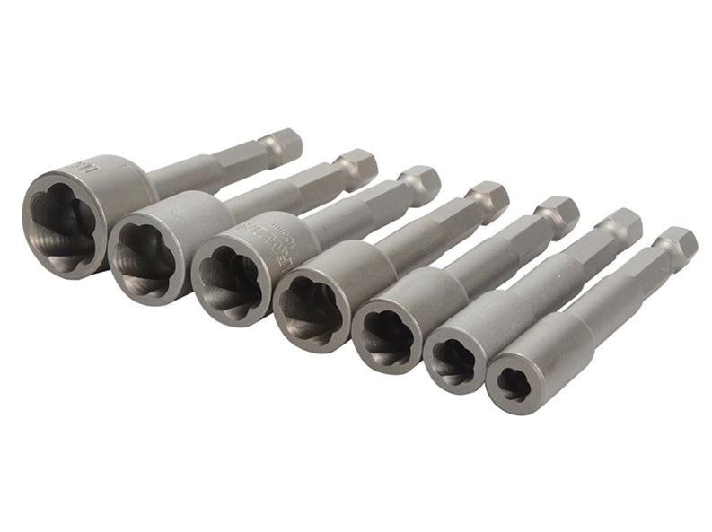 Irwin Power Grip Screw Extractors Set of 7