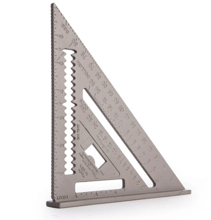 12 in. Johnson Rafter Angle Square Aluminum