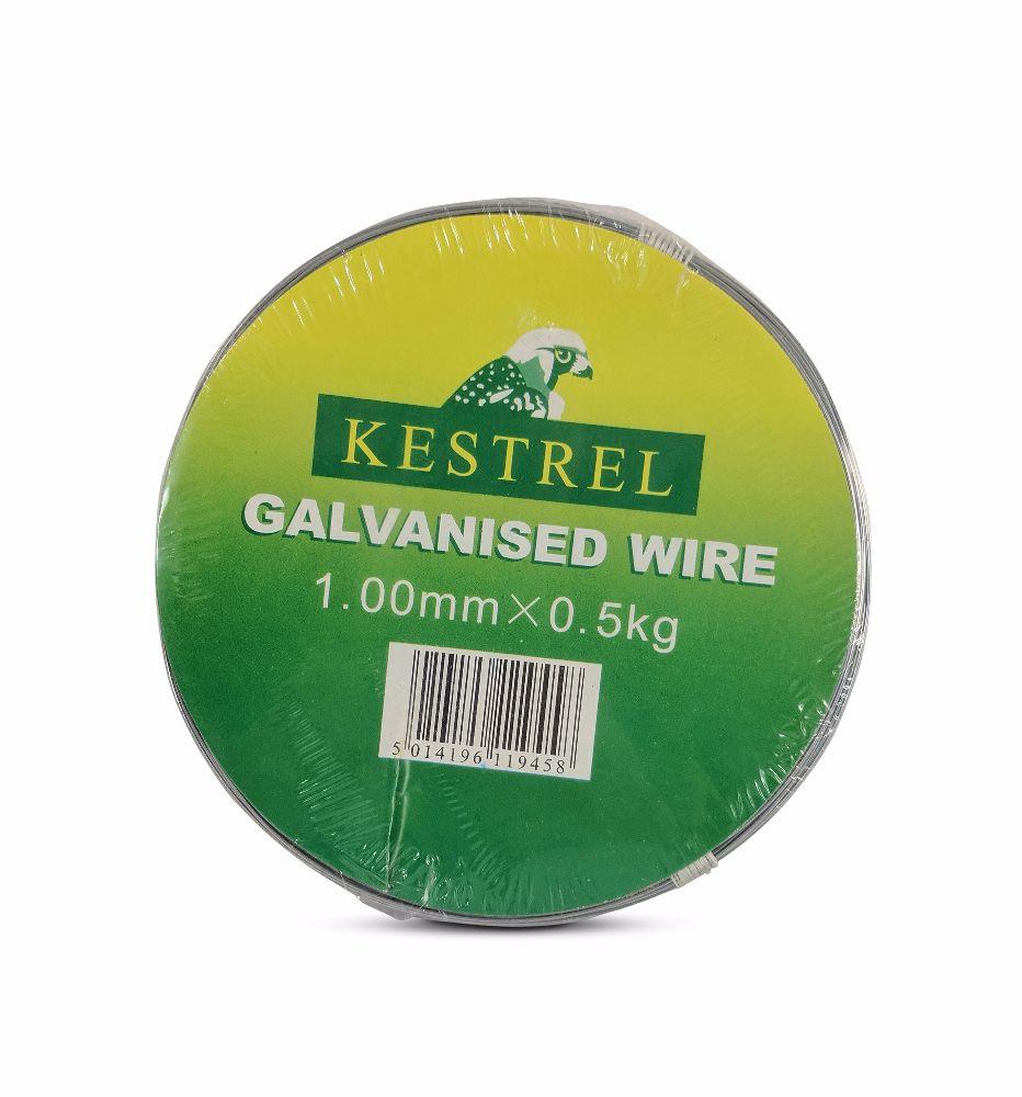 Kestrel Galvanised Wire 1.0mm x 0.5Kg - 81M