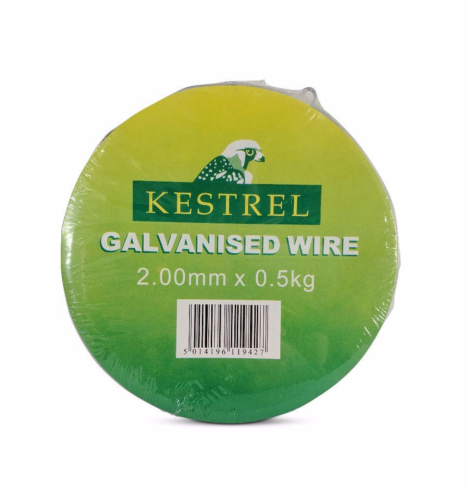 Kestrel Galvanised Wire 2mm x 0.5Kg - 20M