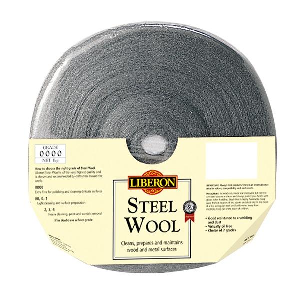 LIBERON Steel Wool 0000 1kg