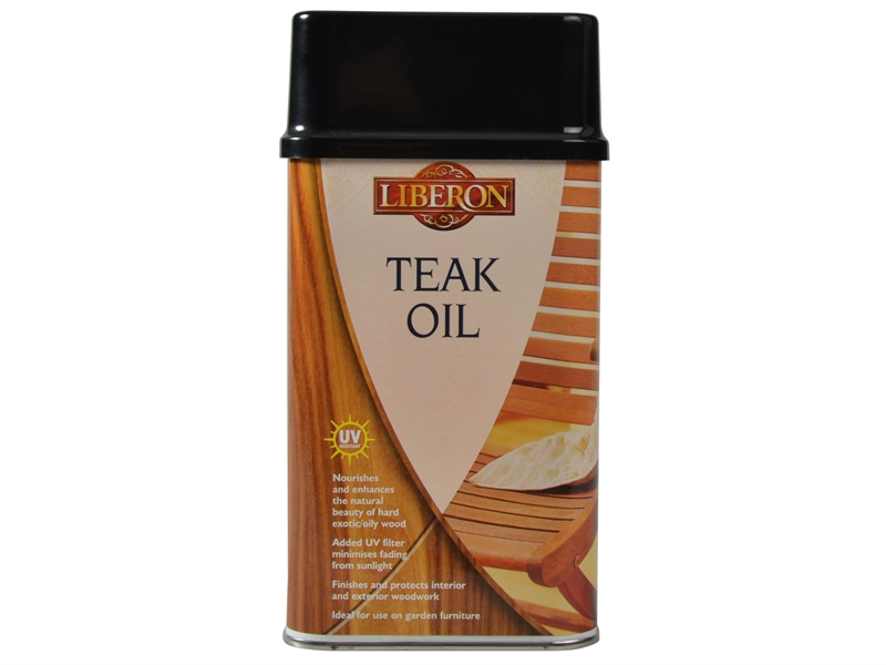 LIBERON Teak Oil With UV Filters 500ml