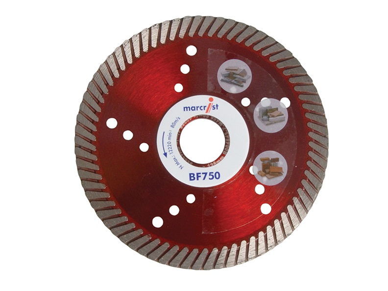 MARCRIST BF750 DIAMOND BLADE 125mm X 22.2