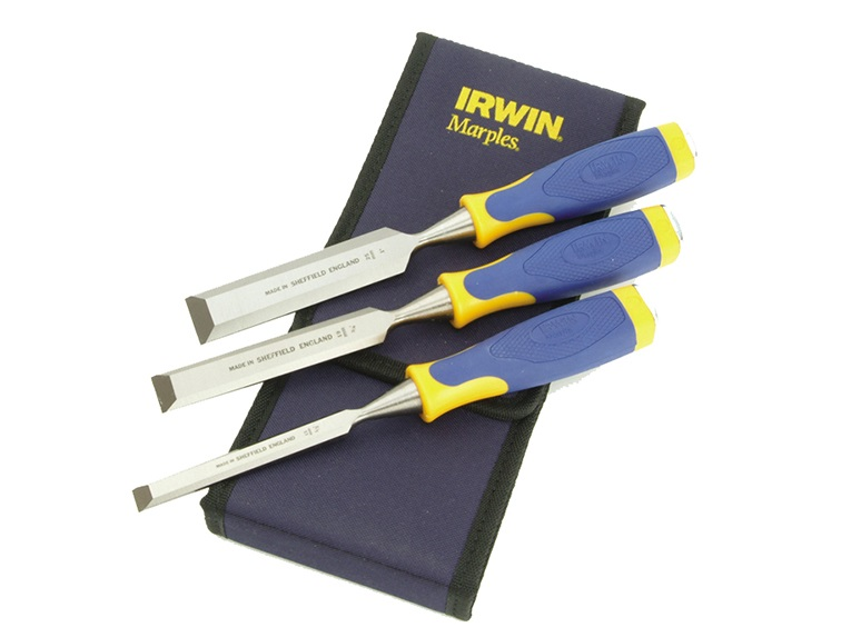 Marples MS500 ProTouch Handle Chisel Set of 3