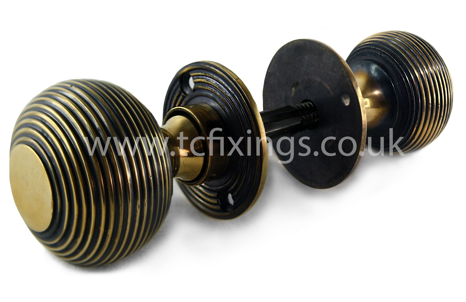 MDS DBEE 50mm Beehive Knob Aged Brass