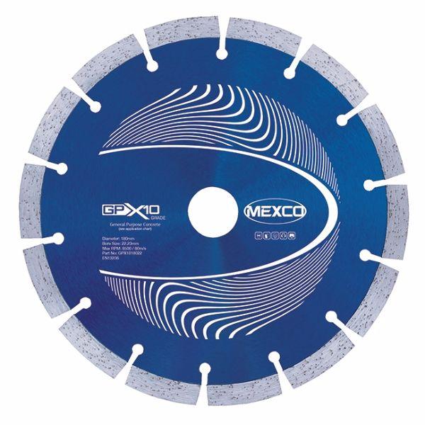 Mexco 180mm Concrete X10 Range