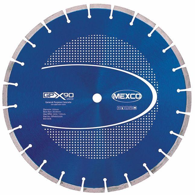 Mexco 350mm Concrete X90 Range