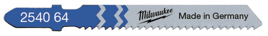 Milwaukee Jigsaw Blade 55mm T 118 B -5pcs