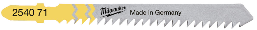 Milwaukee Jigsaw Blade 75mm T 111 C -5pcs