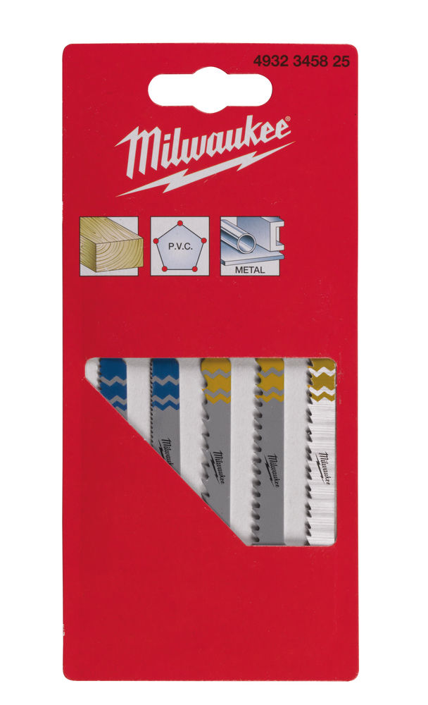 Milwaukee Jigsaw Blade Set -5pcs