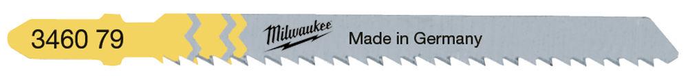 Milwaukee Jigsaw Blade 75mm T 101 BR -5pcs