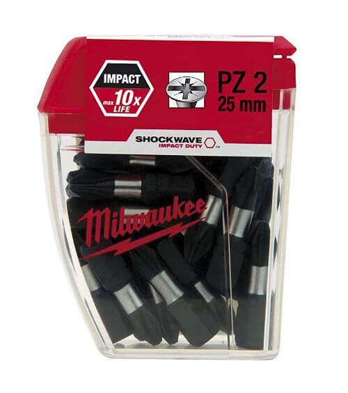 Shockwave PZ 2 x 25mm Screw Driver Bit 25pcs