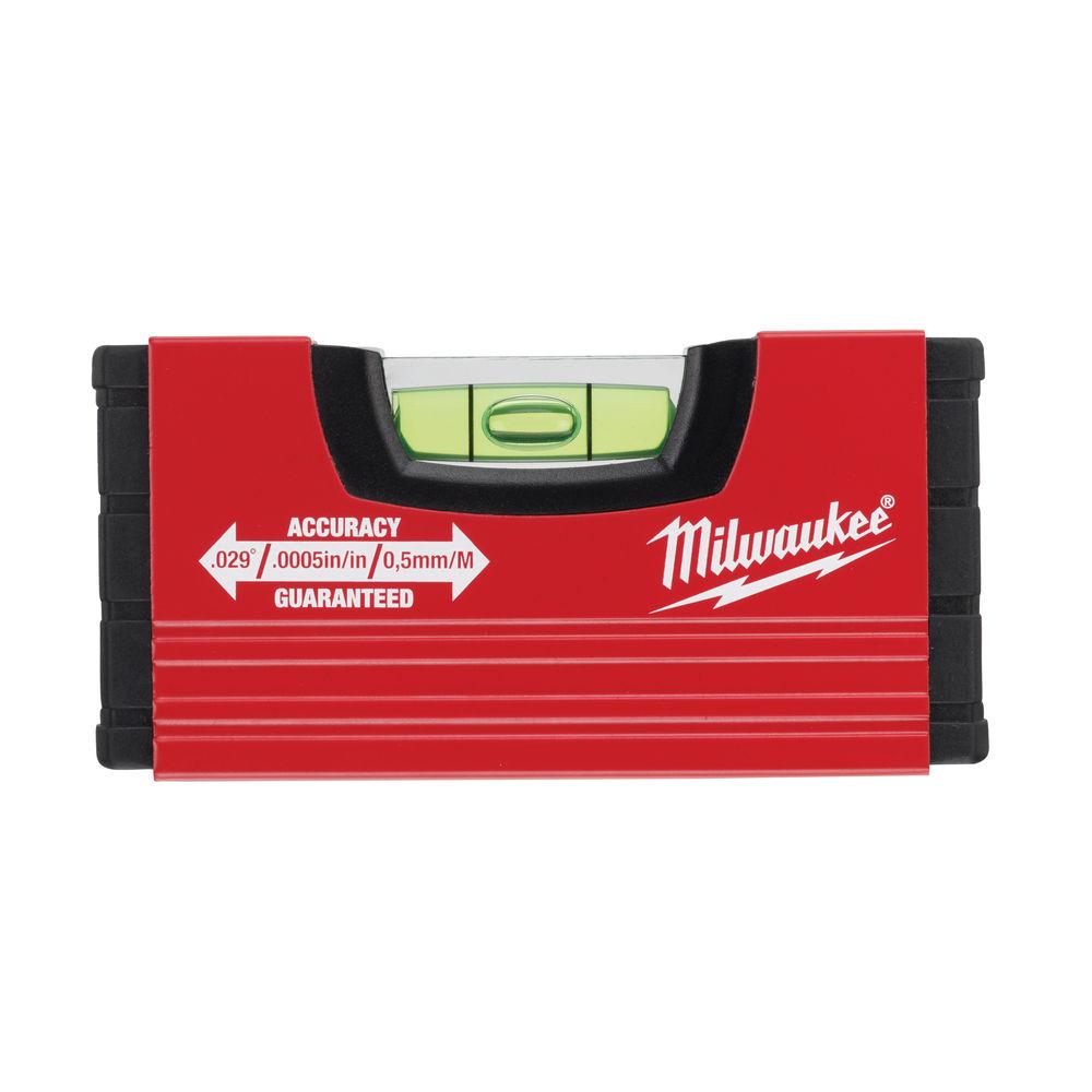 Milwaukee 100mm (4'') Mini-Box Spirit Level