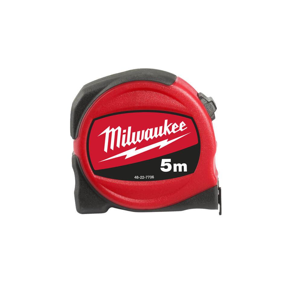 Milwaukee 5m Slim Compact Tape Measure