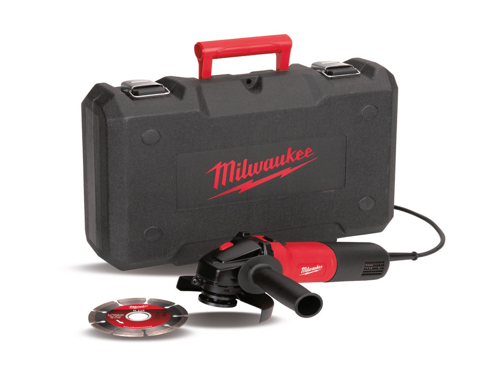 Milwaukee AG750-115 D-SET 115mm Angle Grinder